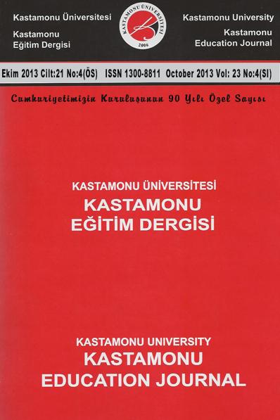 Kastamonu Üniversitesi Kastamonu Eğitim Dergisi